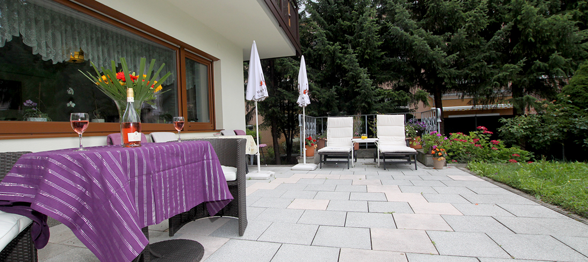 Pension Prantner Terrasse